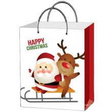New design recycle machine paper bag for Gift Jewelry Christmas Promotion