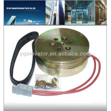 elevator magnetic brake, elevator machine brake, elevator gearless machine brakes