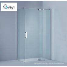Clean Design Cabina de ducha sin marco de ducha / cabina de ducha con bisagras (KW01)