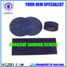 Wood Grinding Abrasive Sanding Screen