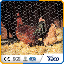 """Hengshui 0.9mm alambre 1/2 """"agujero galvanizado Gallinero malla de alambre hexagonal para zoológico malla"""