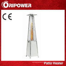 Flame Patio Heater with Stainless Steel