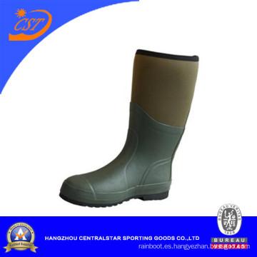 Botas impermeables de neopreno de la rodilla superior cómodas de 5 mm (66480)
