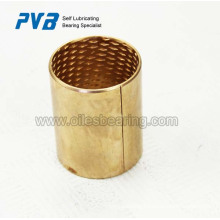 Cylindrical bush,bearings are thin-walled, rolled CuSn8 parts bushing