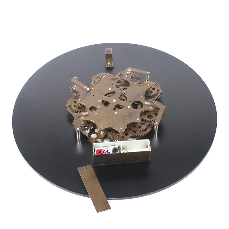 Gear Wooden Clock