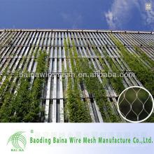 China aus rostfreiem Stahl Dekorative Mesh / Seil Mesh Zaun in China gemacht