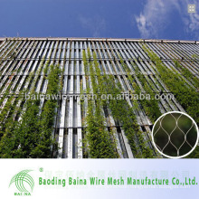 China made stainless steel Decorative mesh/rope mesh fence made in china