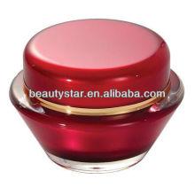 UFO Shape Acrylic Cosmetics Cream Jar