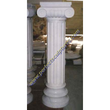 Stone Marble Granite Sandstone Hollow Roman Column Pillars (QCM005)