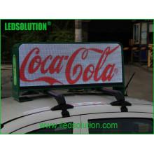 Sinal do diodo emissor de luz do telhado do táxi P5