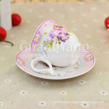 Latest New Design New Bone China Coffee Cup Carrier