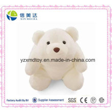 Cute Plump Soft Plush White Polar Bear Stuffed Toy