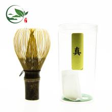 Geräucherter alter goldener Bambus Shin Chasen Whisk