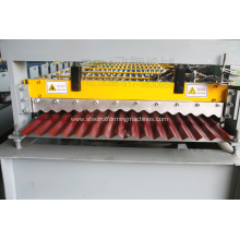 Tile corrugated zinc panel making machine