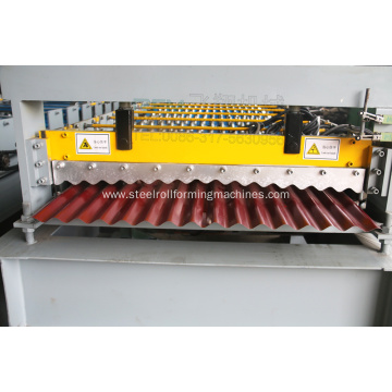 Iron Sheet tile Corrugated Roll Forming Machine