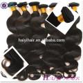 Thick Ends Unverarbeitete Reine Haarverlängerungen Haarwebart