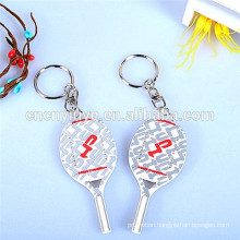 3D Pvc rubber keychain & 2D embossed pvc keychain