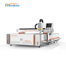 Máquina de corte a laser de fibra de metal 3015