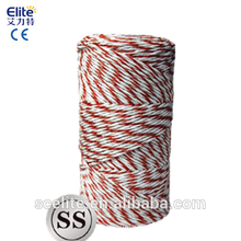 Polytape Polywire 400m Roll Poly Tape/wire Electric Fence for Solar fence energizer
