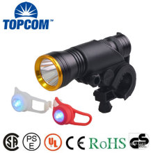 Aluminum Front and Silicone Rear LED Bike Light Set