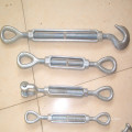 Us Type Drop Forged Galvanized Wire Rope Turnbuckle