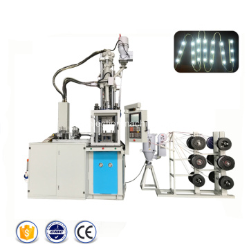 Machine automatique de moulage par injection de modules d'éclairage LED