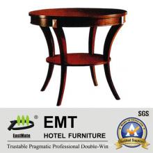 Роскошный деревянный журнальный столик с золотой картиной (EMT-CT06)