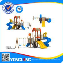 2015 Plastic Slide Type Children Amusement Park Equipment