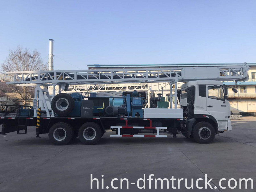 Truck Mounted Drilling Rig 5