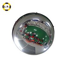 Espejo convexo de cúpula llena de acrílico de techo