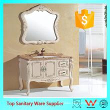 Classic style antique bathroom vanity