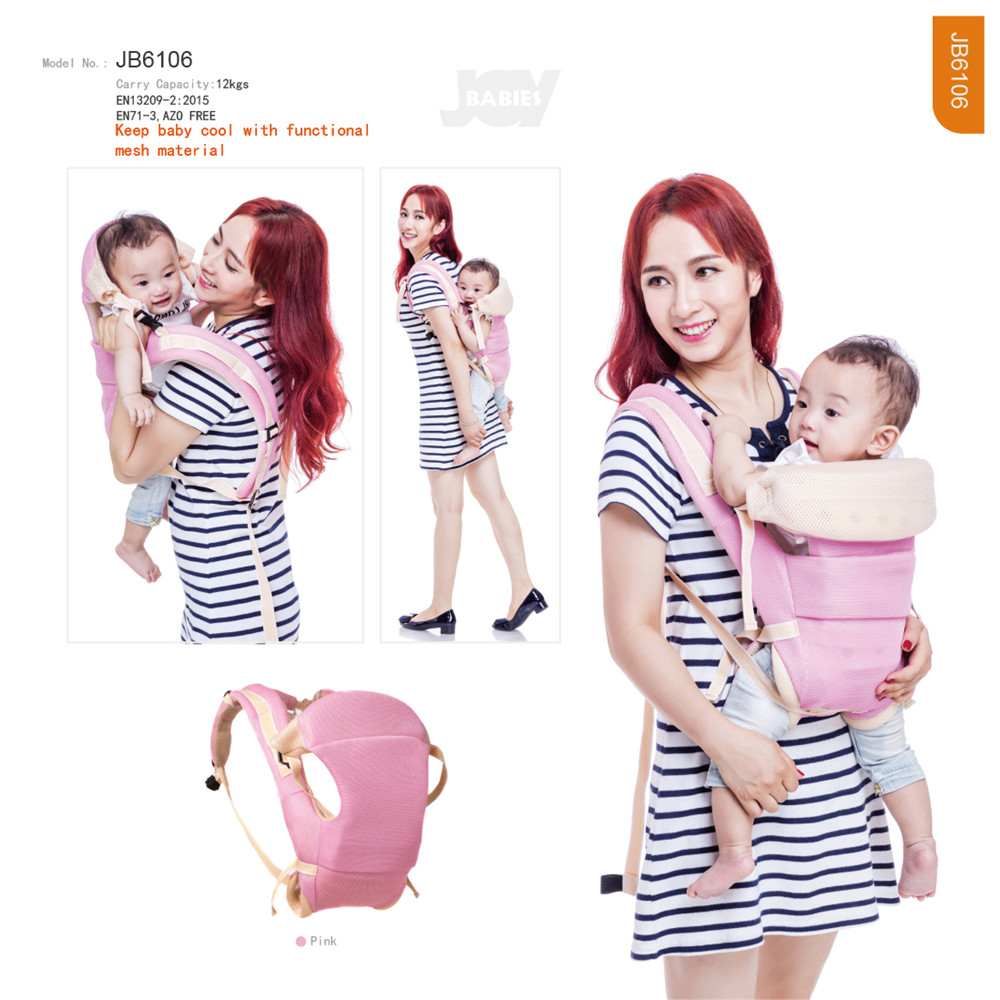 Cool Mesh Backward Baby Carrier Wrap
