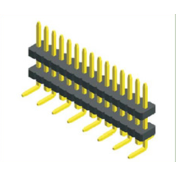 1.27mm Pitch Single Row Double Plastic SMT