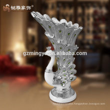 Personalized decoration makes your home beautiful indoor flower luxury vase resin crafts