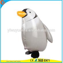 Pingüino del globo de la hoja del juguete de los globos del animal de la venta caliente para el regalo de Christms