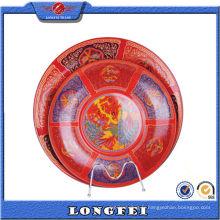 2015 Chine Style émail coloré décoratif plaque de couleur