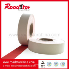 Kundengebundene Farben PVC Leder reflektierende Wirkung für Sportschuhe
