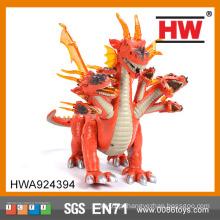 Brinquedos de plástico engraçado pilha operado brinquedos dinossauro robô
