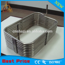 Square ring coil heating elements