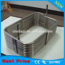 Elementos de aquecimento da bobina do anel quadrado