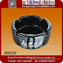 Ceramic portable ashtray