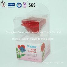 Wholesale Beautiful Flower Shape Candle