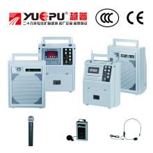 Портативная акустическая система с дисплеем и кассетой