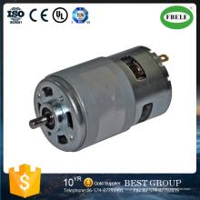 DC-Motor mit hoher Leistung, Elektrowerkzeugmotor, Bürsten-DC-Motor, Mini-Mikromotor, Kohlebürstenmotoren, Getriebemotor