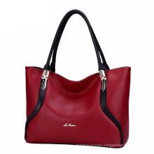 Autumn and Winter Korea Ladies Tote Bag Pillow Shape PU Handbag (ZX10167)