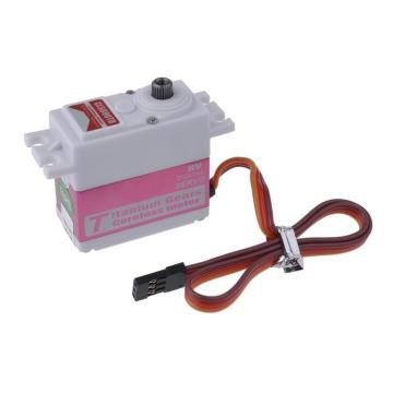 Servo motor de engrenagem de titânio elétrico para rc robô rc helicóptero