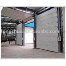 isolated overhead garage door