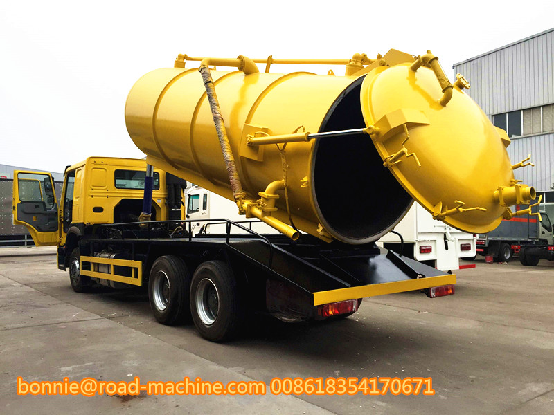Sewage Suction Tank truck