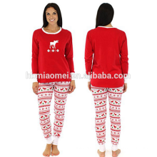 2016 en gros bébé vêtements set filles pyjamas noël famille pyjamas