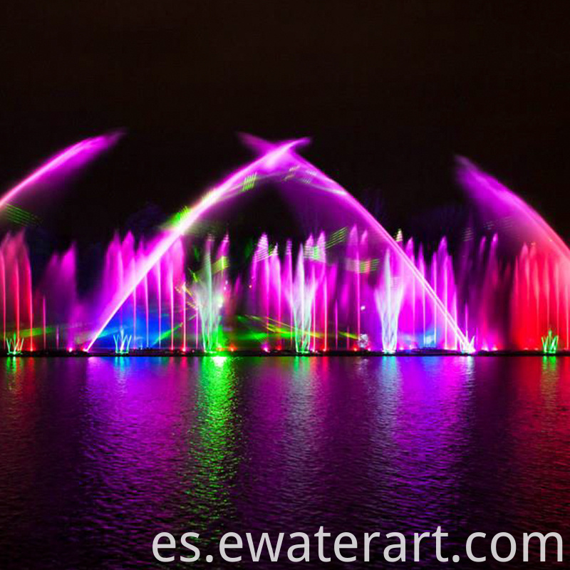 solar powered fountains & waterfalls